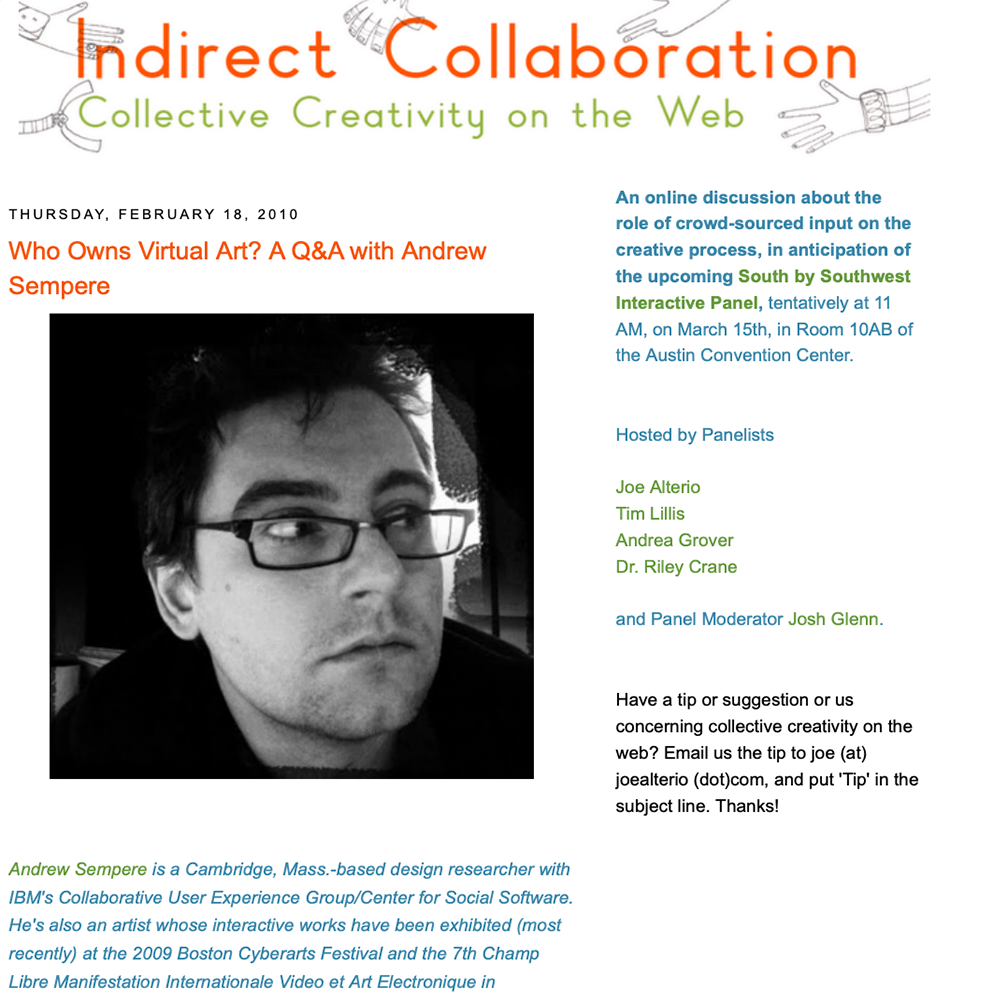 Indirect Collaboration